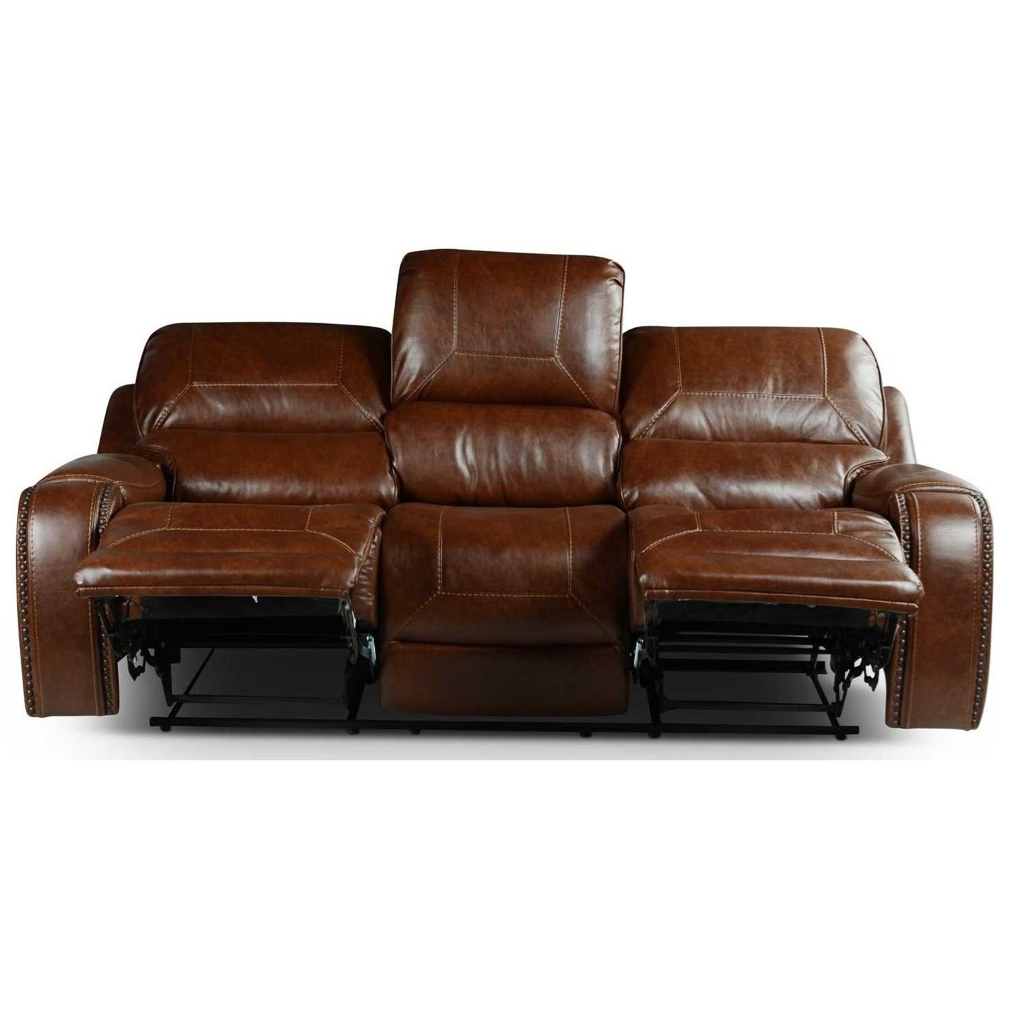 Steve Silver Keily Ke800S Manual Motion Recliner Sofa With In Navigator Gray Manual Reclining Sofas (View 3 of 11)