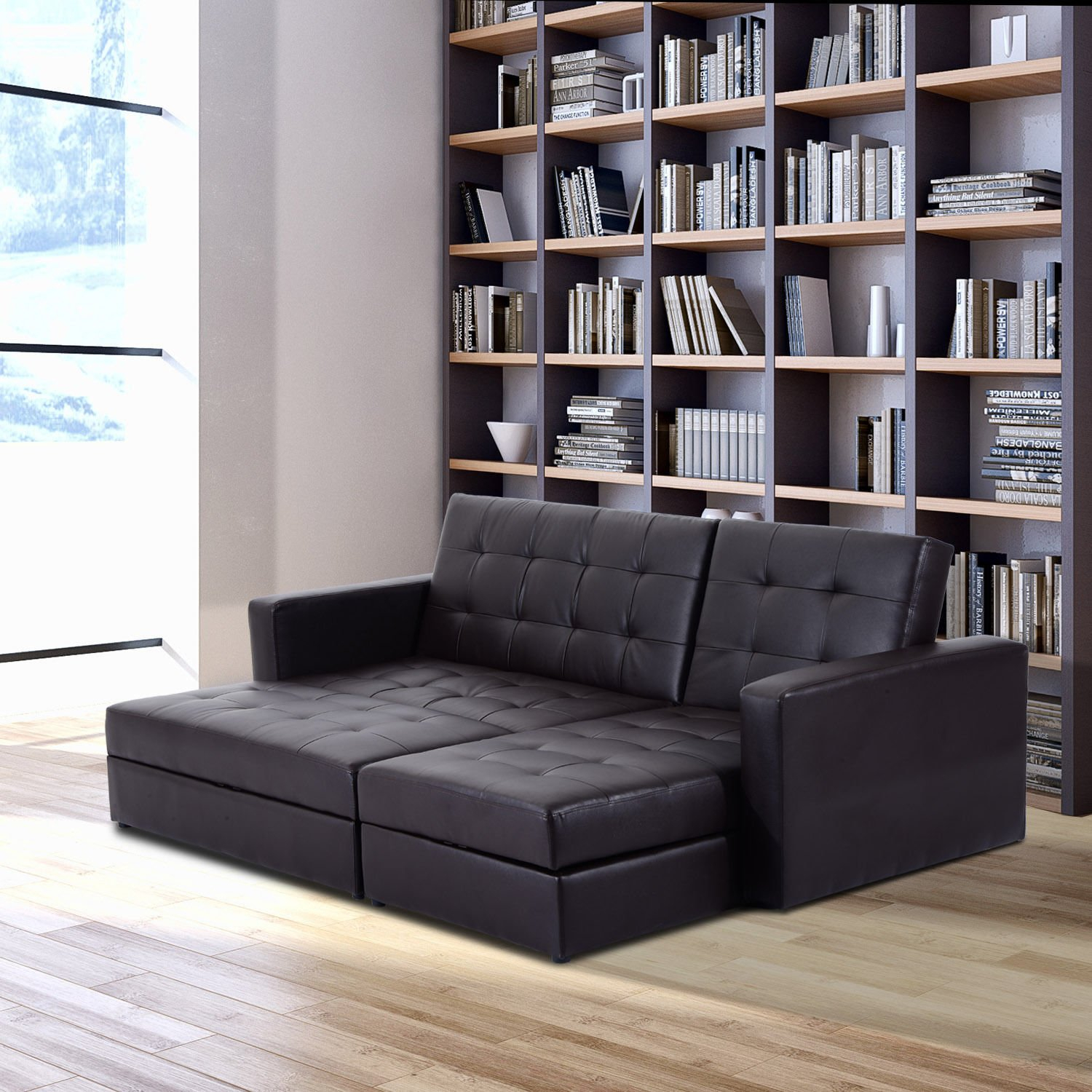 Storage+Sleeper+Couch+Sofa+Bed – Simply Style For Prato Storage Sectional Futon Sofas (View 11 of 15)