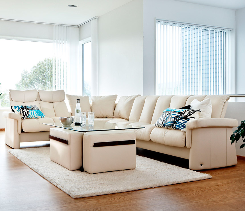 Stressless Legend Recliner Sofa Range – Wharfside Furniture Within Sofa With Chairs (View 3 of 15)