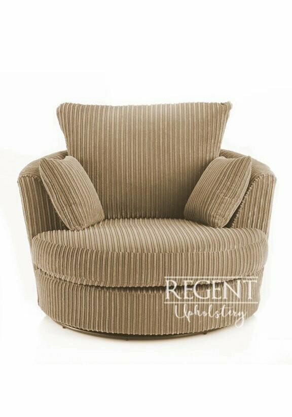 Swivel Cuddler Chair – Jumbo Cord With Cuddler Swivel Sofa Chairs (View 10 of 15)