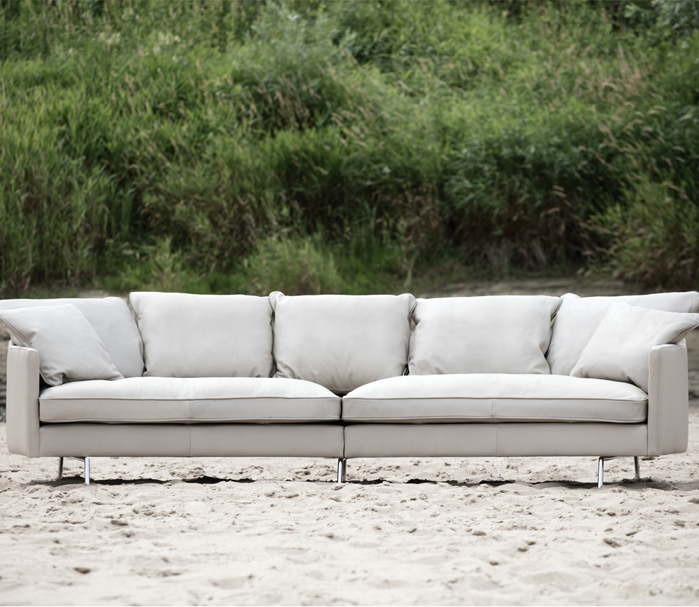 Tahara Four Seater Curved Sofa | Jarrold, Norwich Within 4 Seater Sofas (View 11 of 15)