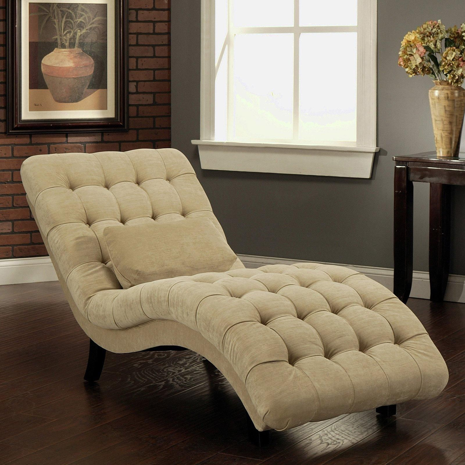 Thatcher Fabric Chaise Lounge | Www (View 10 of 15)