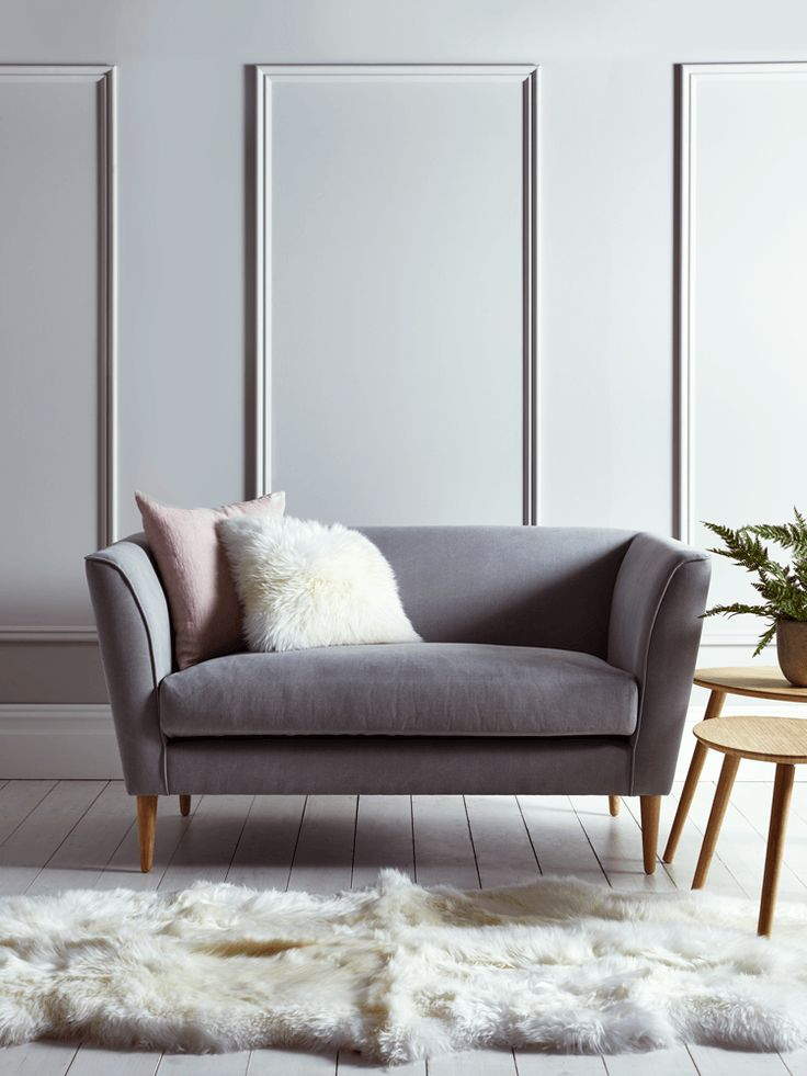 The 25+ Best Grey Sofa Decor Ideas On Pinterest | Living Inside Sofa Chairs For Bedroom (View 4 of 15)