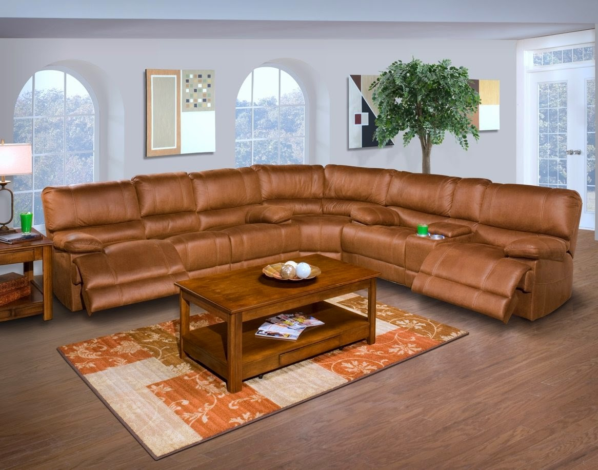 The Best Reclining Sofas Ratings Reviews: Barton 6 Pc Pertaining To Extra Large Sectional Sofas (View 14 of 15)