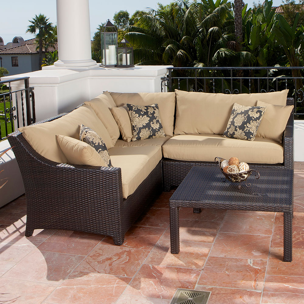 Trade Assurance Comfortable Outdoor Furniture Patio Table Inside Outdoor Sofa Chairs (View 11 of 15)