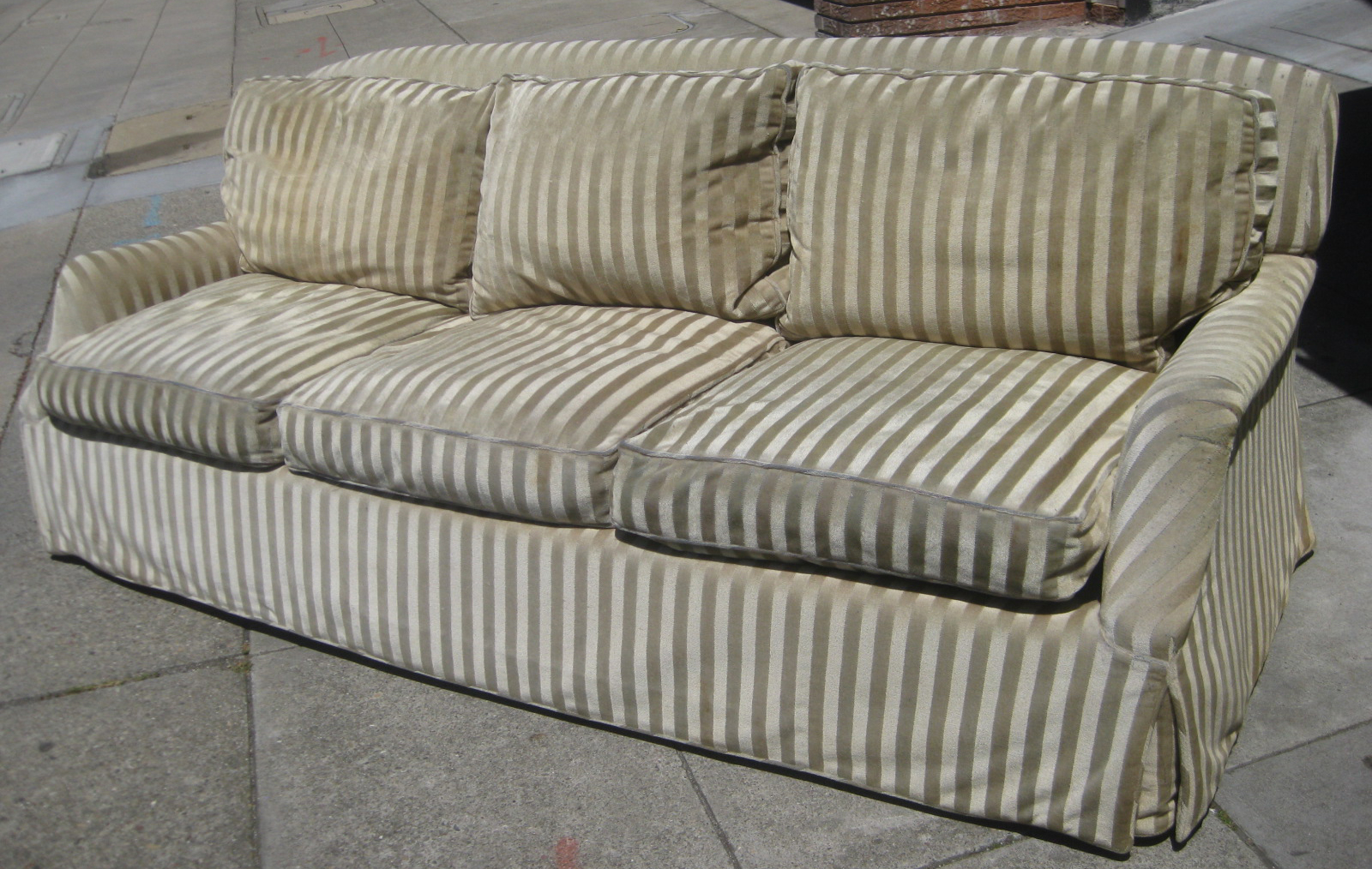 Uhuru Furniture & Collectibles: Sold – Down Filled Sofa – $120 Pertaining To Down Filled Sofas (View 11 of 15)