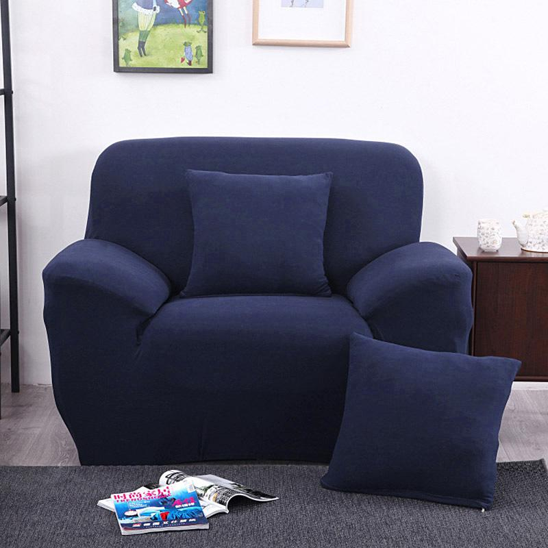 Universal Sofa Cover Elastic Arm Chair One Seater For Big Sofa Chairs (View 7 of 15)
