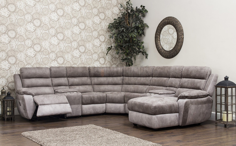 Urban Lh/Rh Chaise Corner Modular Fibre Fabric Recliner In Modular Corner Sofas (View 15 of 15)
