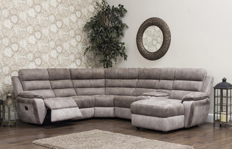 Urban Lh/Rh Chaise Corner Modular Fibre Fabric Recliner With Modular Corner Sofas (View 13 of 15)
