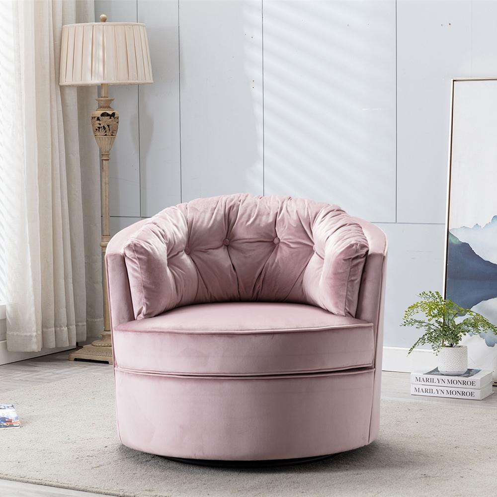 Velvet Swivel Shell Chair, Modern Velvet Accent Inside Swivel Sofa Chairs (View 10 of 15)