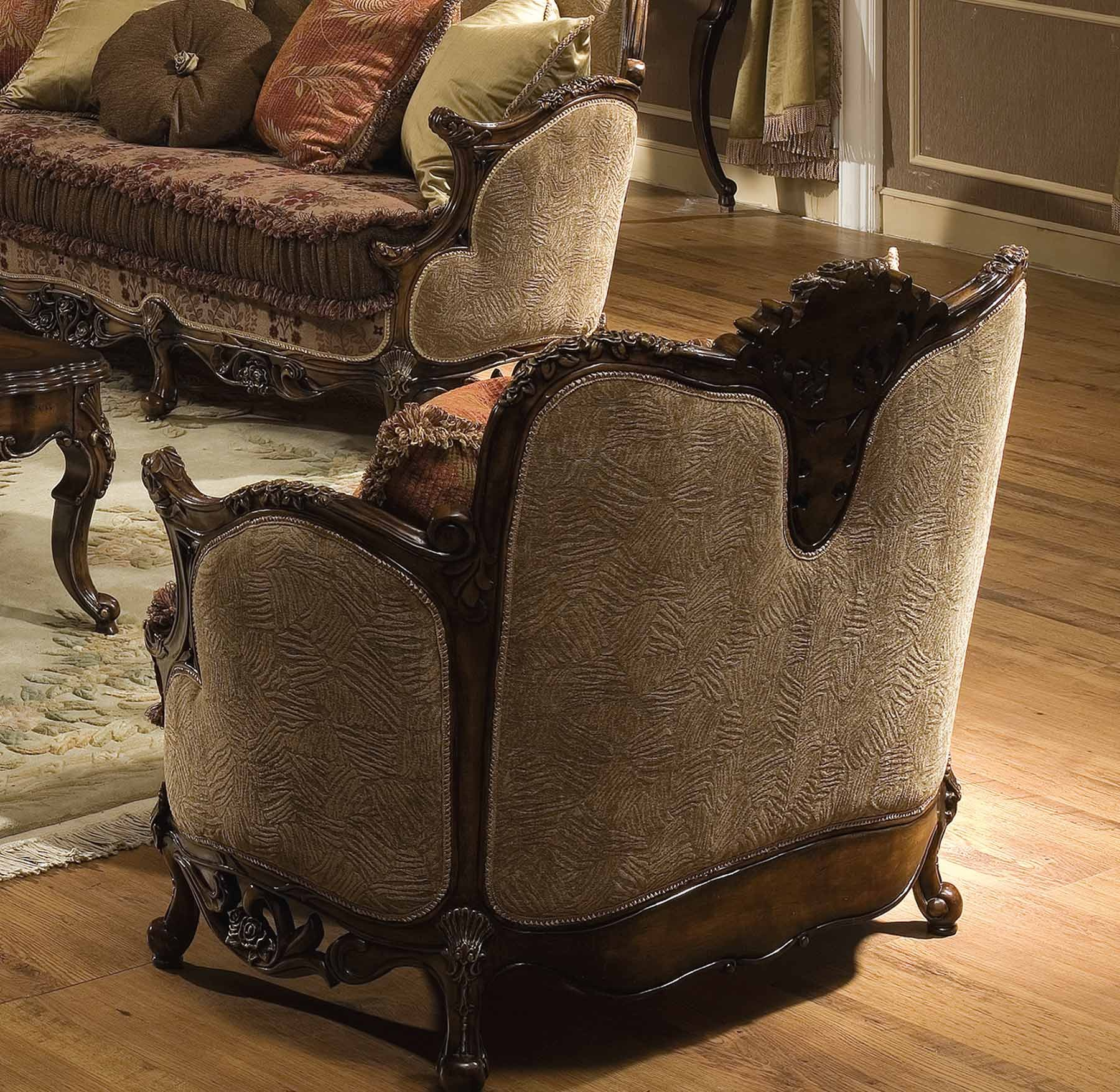 Victoria Arm Chair / Sofa (Antique Walnut) – Sofa – Living Within Sofa Arm Chairs (View 9 of 15)