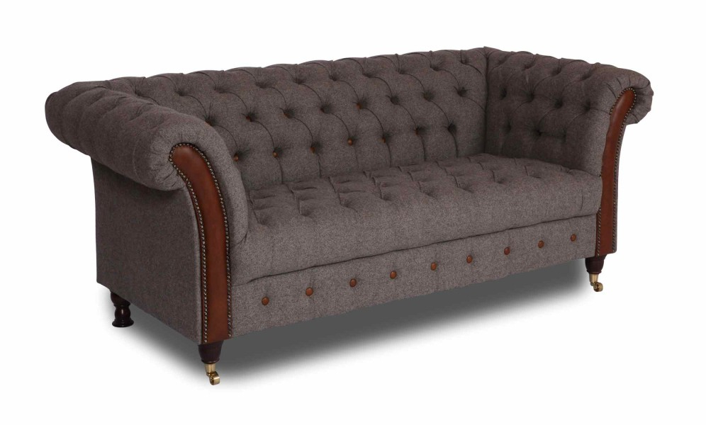 Vintage Sofa Company Chester Club 2 Seater Sofa With Retro Sofas And Chairs (View 13 of 15)