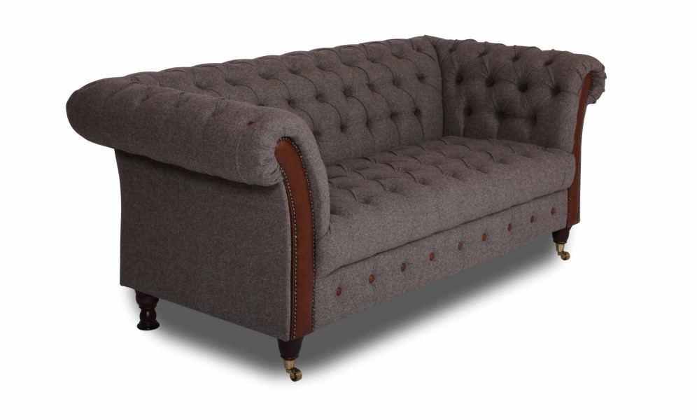 Vintage Sofa Company Chester Club 3 Seater Sofa For Retro Sofas And Chairs (View 2 of 15)
