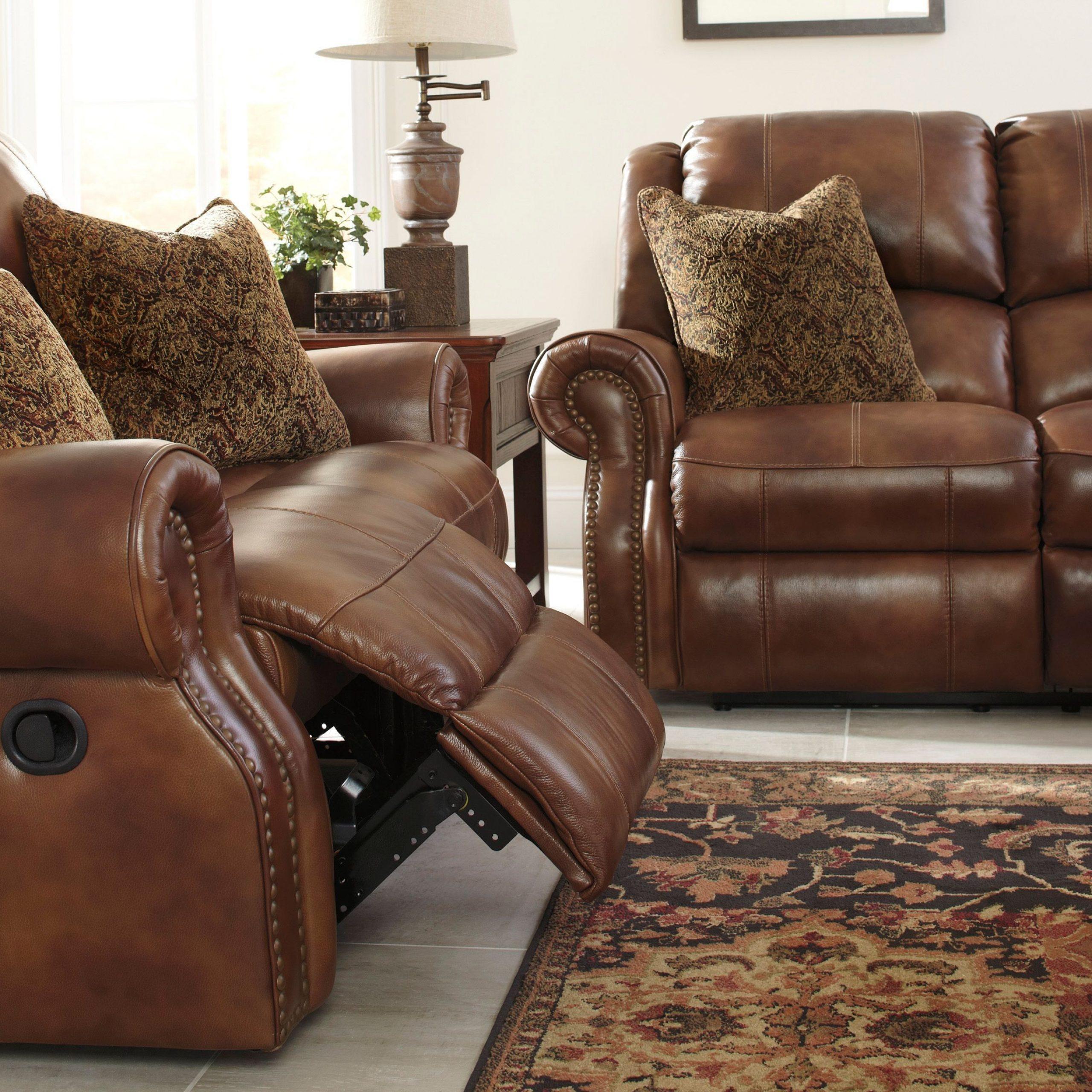 Walworth Auburn Power Reclining Sofa From Ashley (U7800187 Regarding Power Reclining Sofas (View 7 of 15)