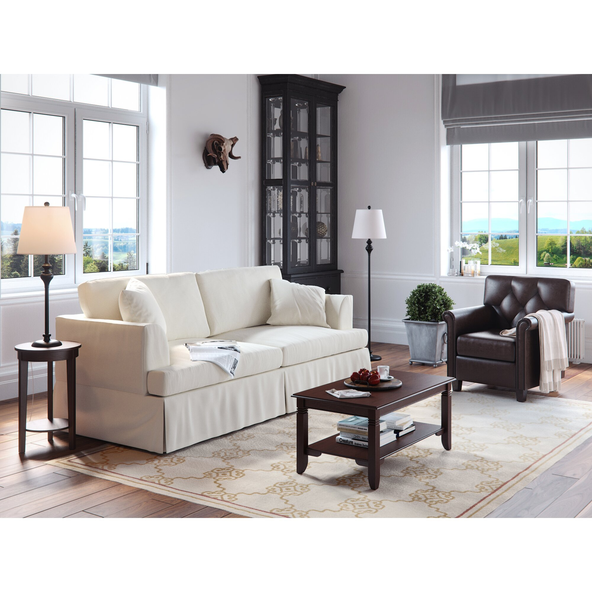 Wayfair Custom Upholstery Carly Sofa & Reviews   Wayfair Throughout Customized Sofas (View 4 of 15)