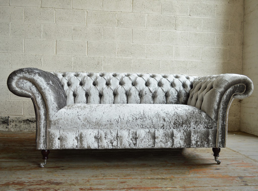 Westbury Velvet Chesterfield Sofa | Abode Sofas Pertaining To Chesterfield Sofas And Chairs (View 2 of 15)