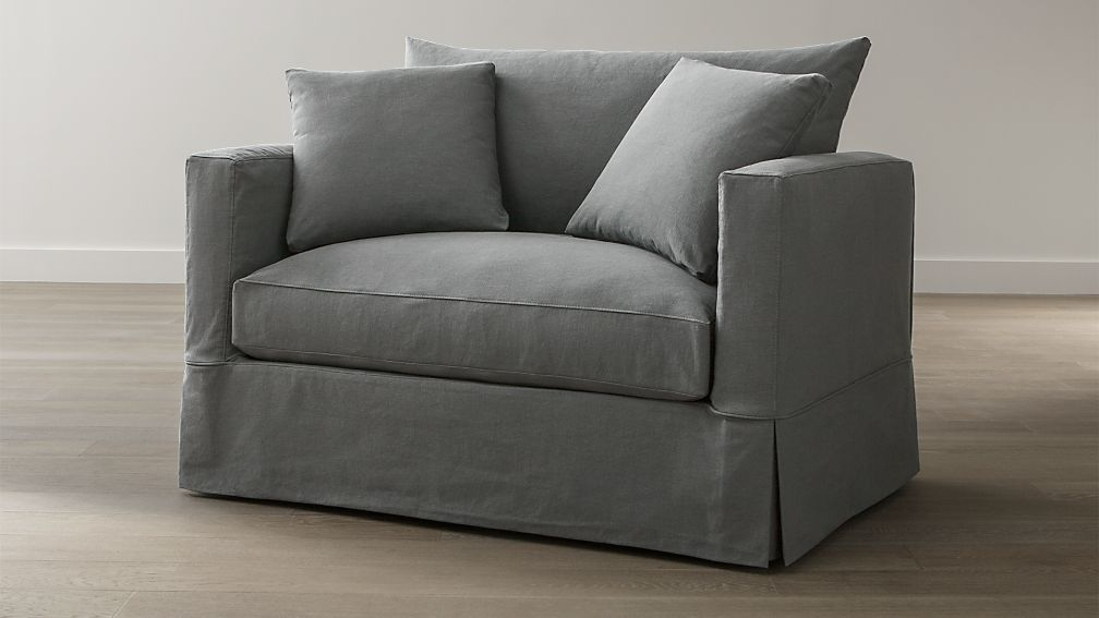 Willow Twin Sofa Sleeper | Crate And Barrel With Twin Sofa Chairs (View 13 of 15)