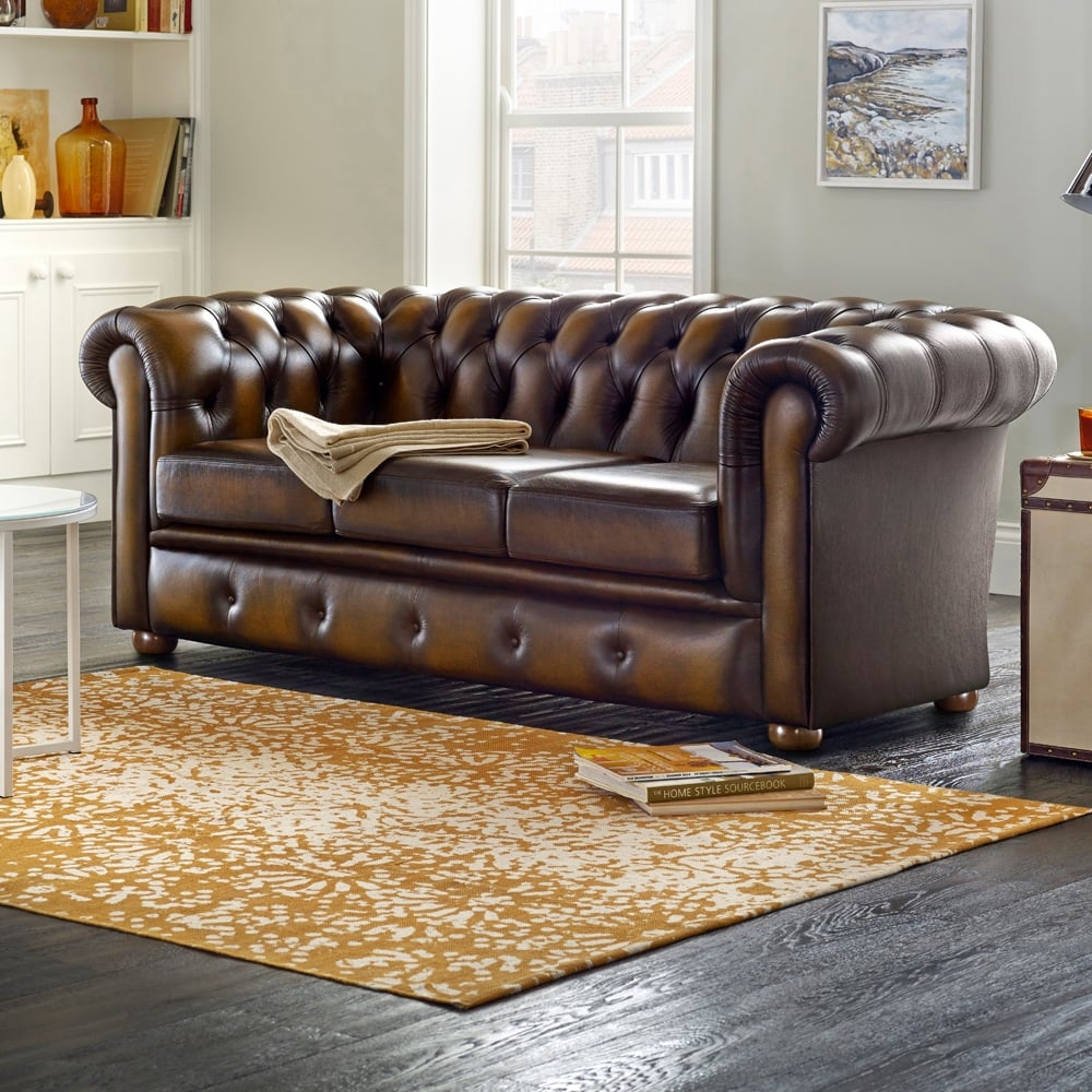 Winchester 2 Seater Sofa Bed – From Sofassaxon Uk Throughout 2 Seater Sofas (View 7 of 15)
