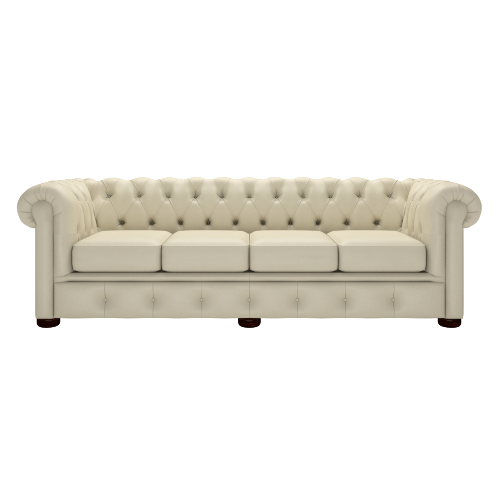 Winchester 4 Seater Sofa – From Timeless Chesterfields Uk Throughout Four Seater Sofas (View 15 of 15)