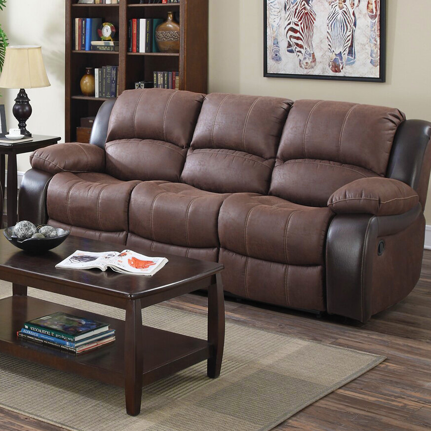 Winston Porter Ballyrashane Reclining Sofa | Ebay Within Winston Sofa Sectional Sofas (View 10 of 15)