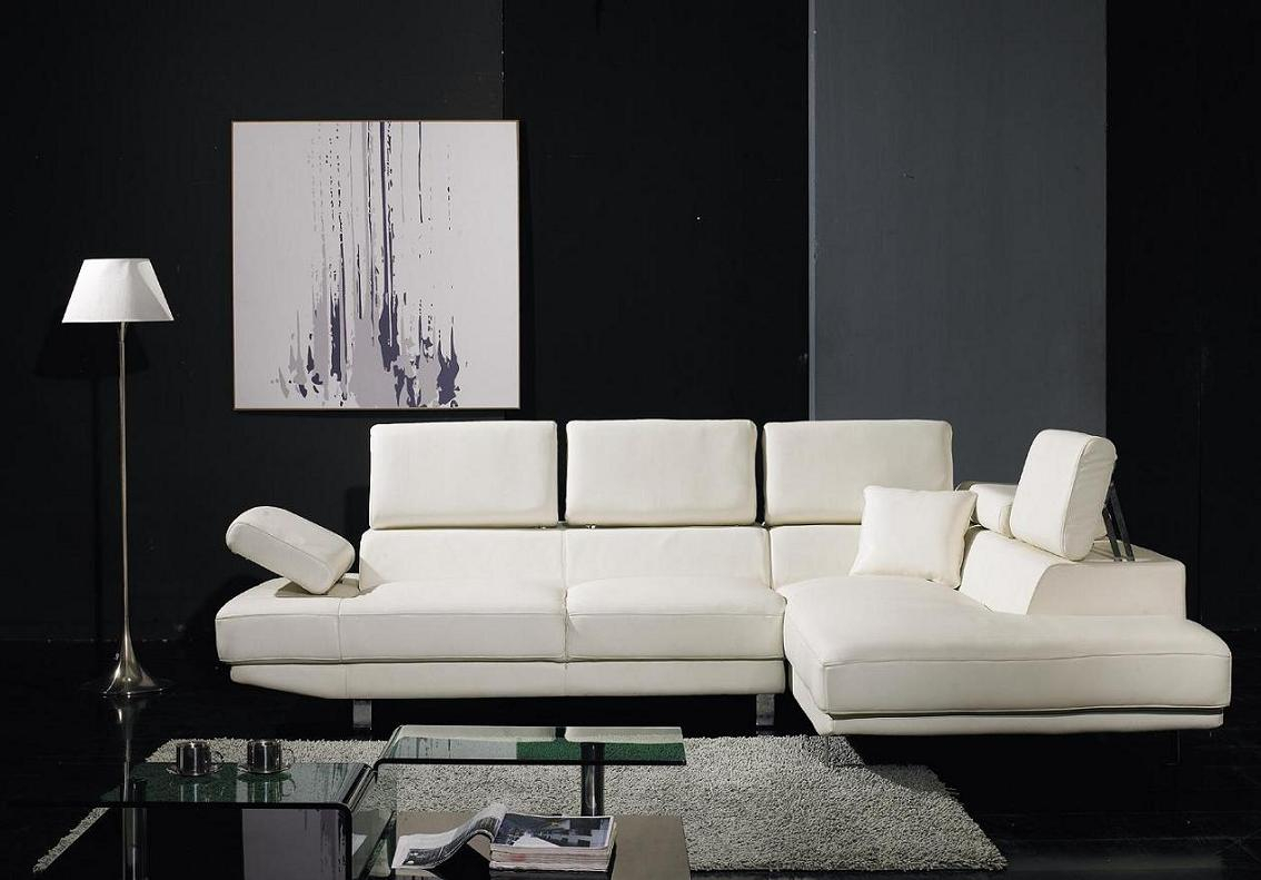 Yil T60 Ultra Modern Sectional Sofa | Black Design Co With Wynne Contemporary Sectional Sofas Black (View 8 of 15)