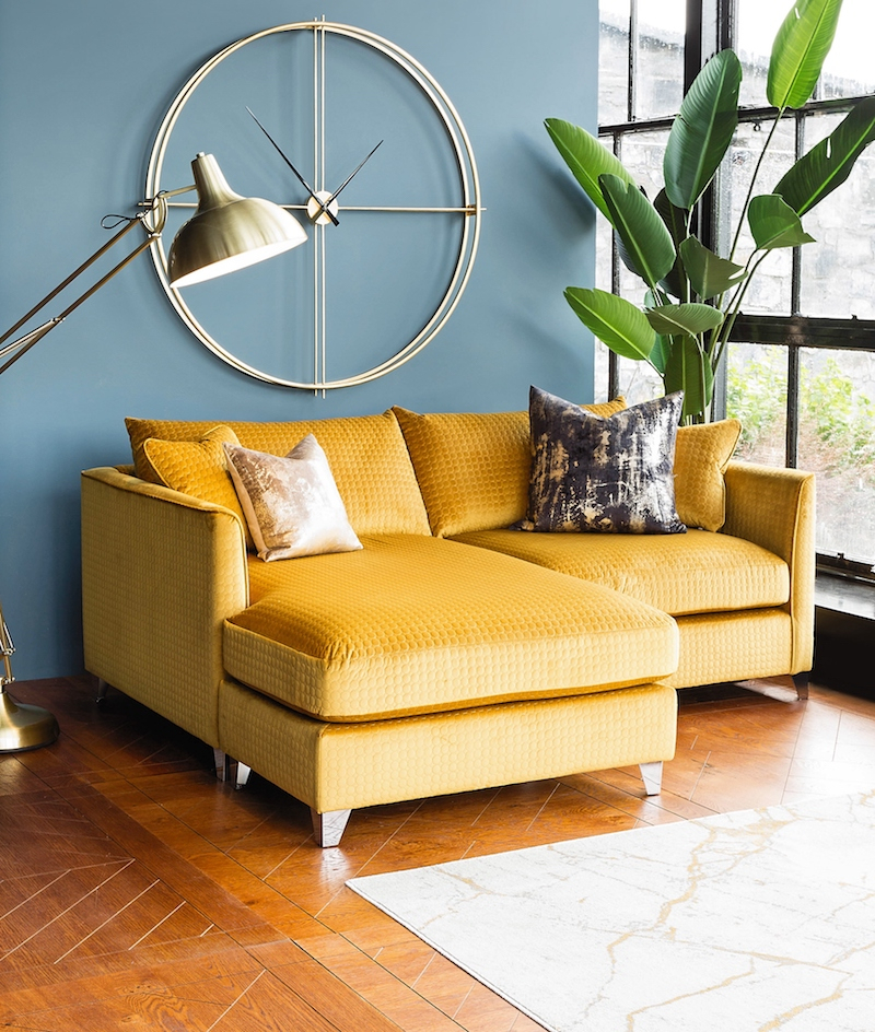 Your Essential Guide To Harvey Norman'S New Interiors Intended For 4Pc French Seamed Sectional Sofas Oblong Mustard (View 4 of 15)
