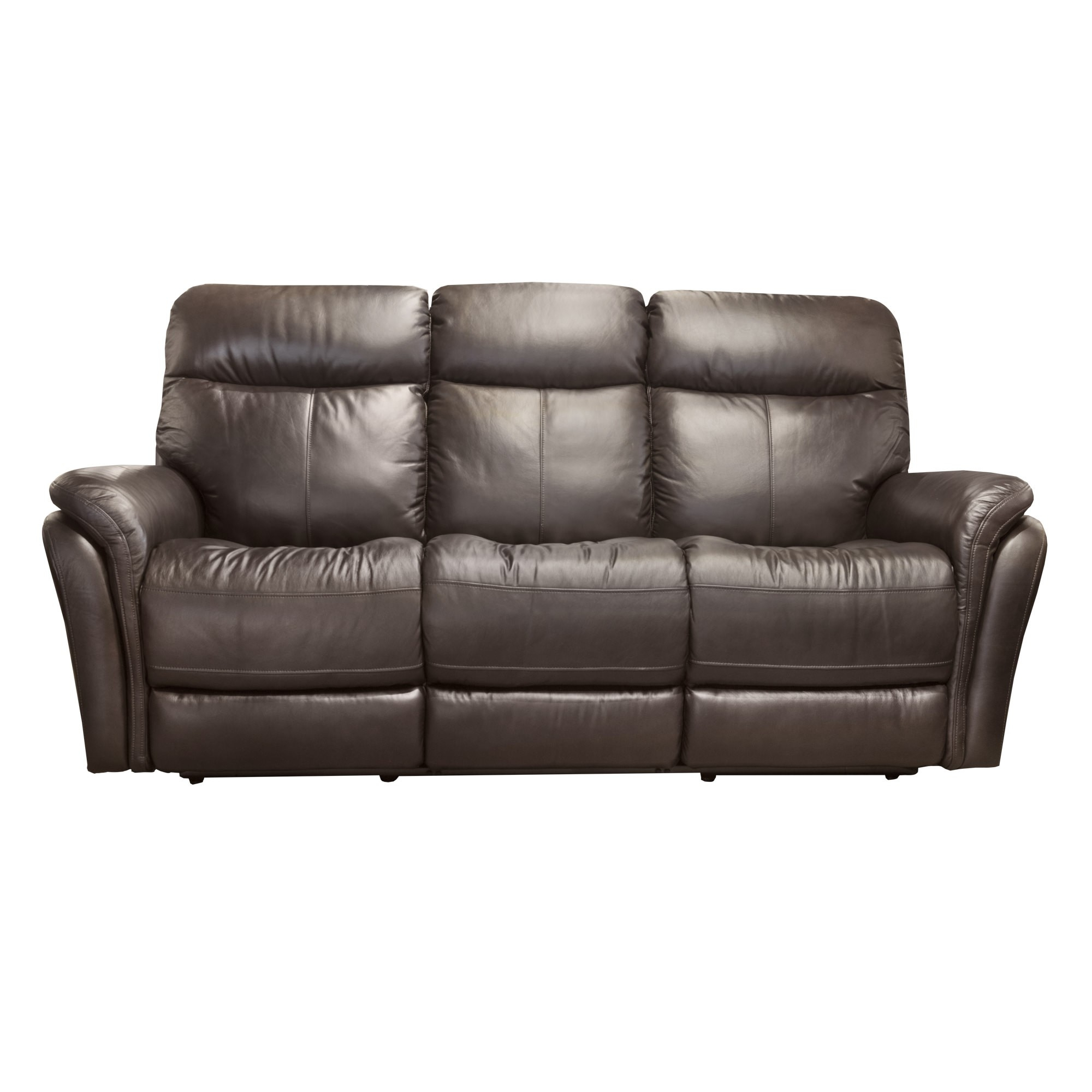 Zoey Brown Power Reclining Sofa With Power Headrest Regarding Expedition Brown Power Reclining Sofas (View 3 of 15)