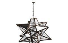 1-Light Single Star Pendants