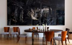 Abstract Wall Art for Dining Room