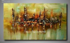 Abstract Wall Art Canvas