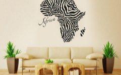 Africa Map Wall Art