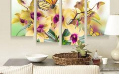 Butterflies Canvas Wall Art