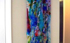 Glass Abstract Wall Art