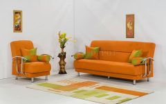Orange Sofa Chairs