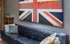 Union Jack Canvas Wall Art