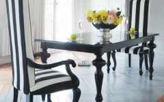 2013 Black White Dining Room Inspiration Ideas