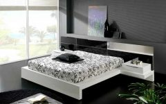 2013 Elegant Black White Bedroom Ideas