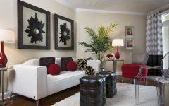 2014 Narrow Modern Living Room