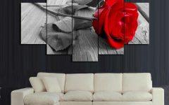 Rose Canvas Wall Art