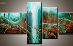 4 Piece Canvas Art Sets