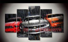 Car Canvas Wall Art