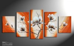 Orange Wall Art