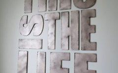 Metal Letter Wall Art