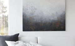 Gray and White Wall Art