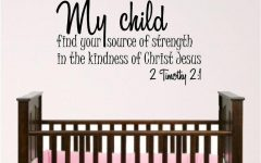 Nursery Bible Verses Wall Decals