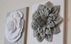 Flowers 3D Wall Art