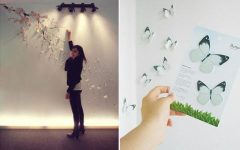 Blossom White 3D Wall Art