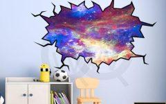 Space 3D Vinyl Wall Art
