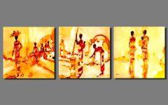 India Abstract Wall Art