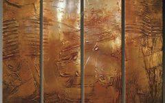 Brown Abstract Wall Art